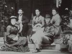Thomas Glover med familie, ca år 1900