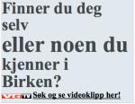 """Denne overskriften er delt i tre, og det VG helst vil utheve er """"ELLER NOEN DU""""!"""
