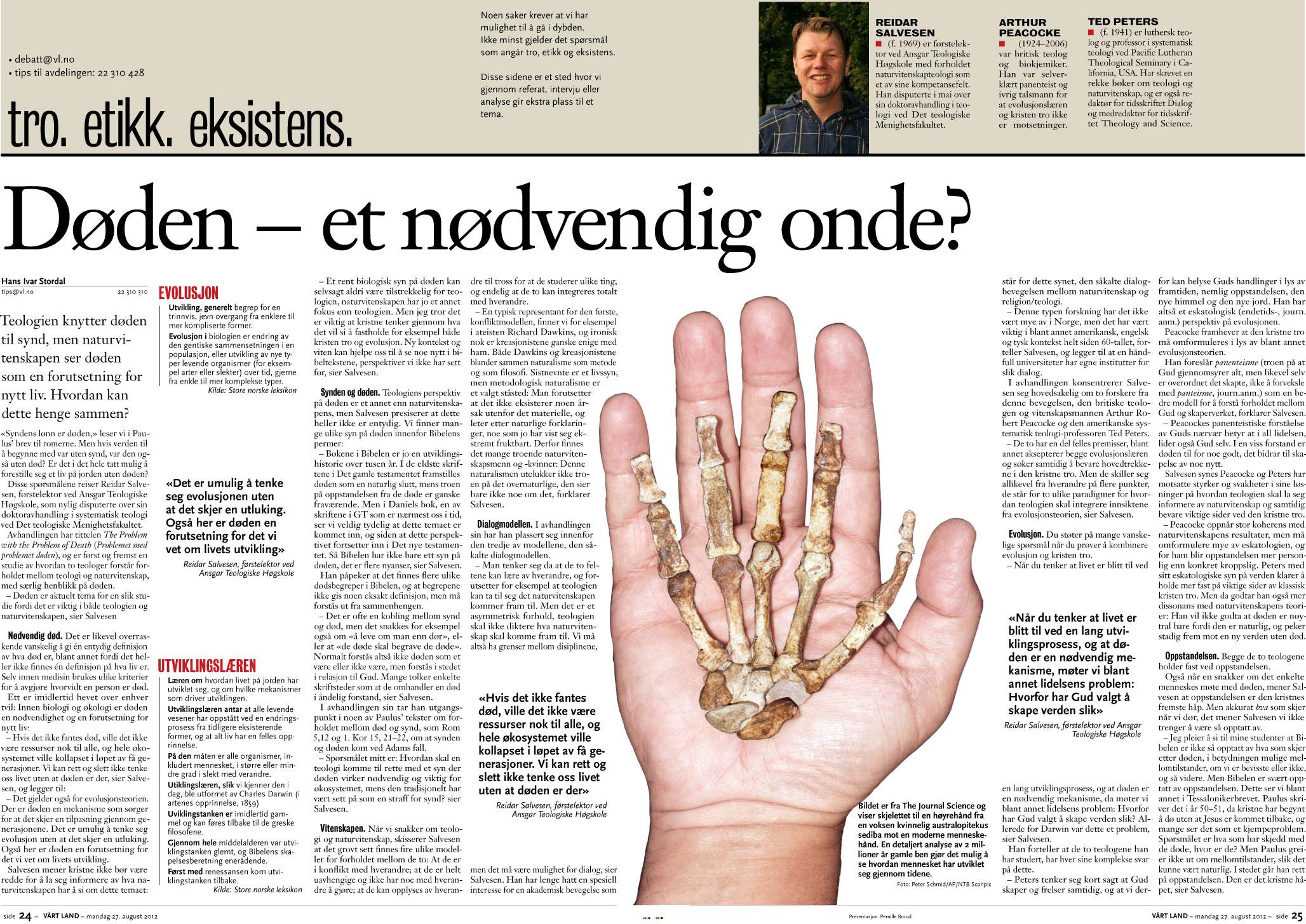 03a1d621 Døden – et nødvendig onde? | Hans Ivar Stordals blogg