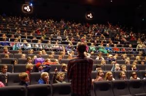 Foredrag for 4.-trinnselever i Oslo på Saga Kino våren 2014.