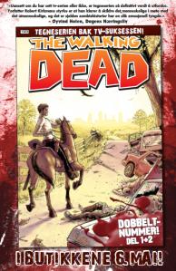 Første utgave av månedsbladet The Walking Dead kommer ut 6. mai 2013.