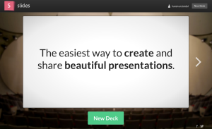 Slid.es er et spennende alternativ til Powerpoint.