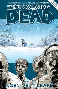 The Walking Dead 2 norsk cover