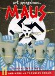 Hvilken sammenheng er det mellom innhold og tegnestil/form i f.eks. Art Spiegelmans Maus?