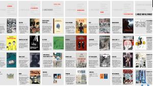 Noen anbefalinger av gode tegneserier fra presentasjonen min, sortert i kategorier.