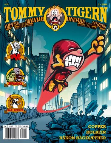 Omslag Tommy og Tigern 2-08