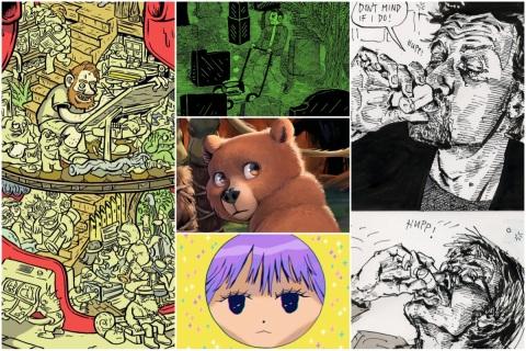 Aktuelle tegneserier i 2019 - kollasj fra Empirix.no